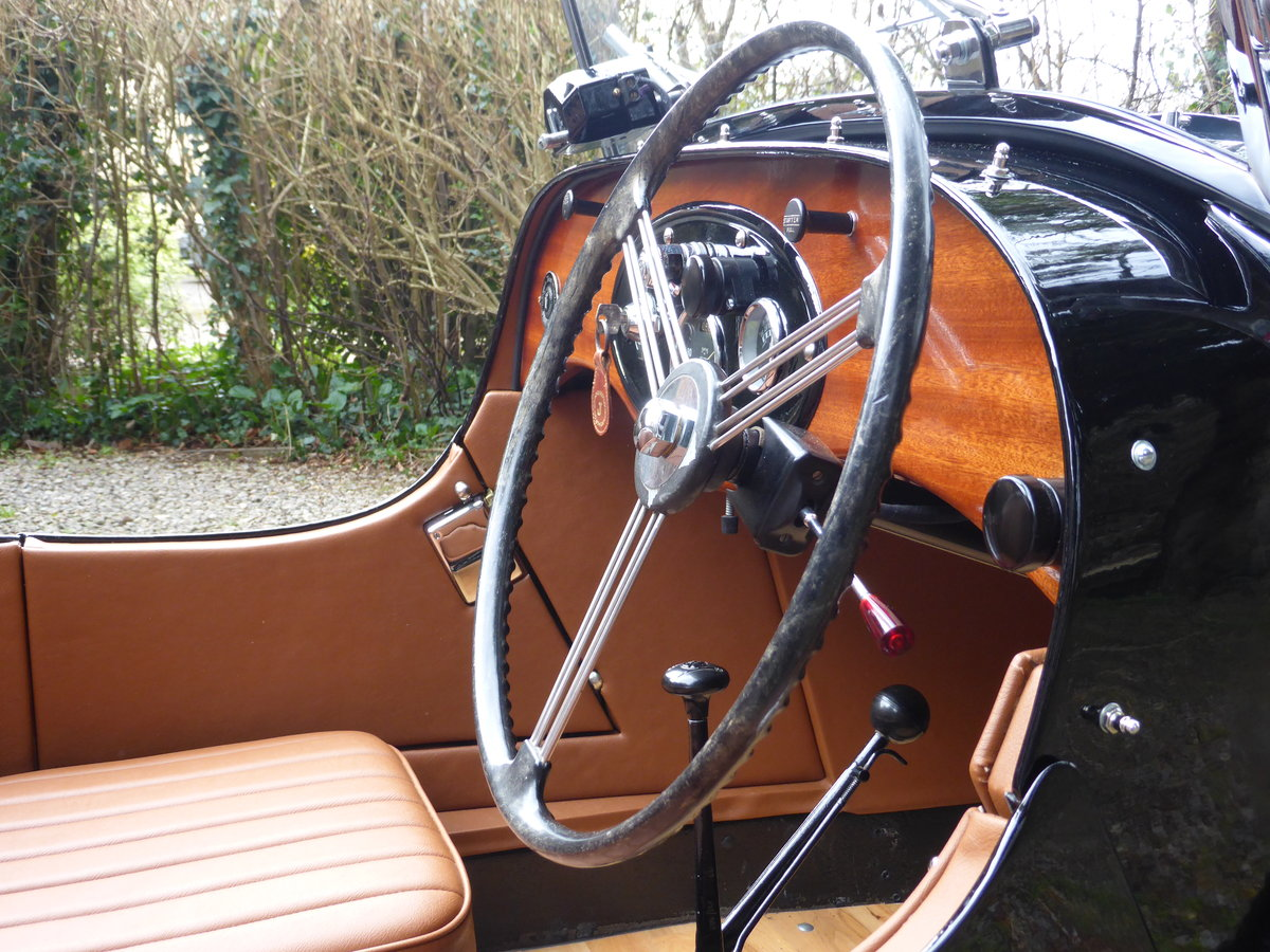 1936 Morgan 3 Wheeler F2, full restoration For Sale (picture 3 of 6)
