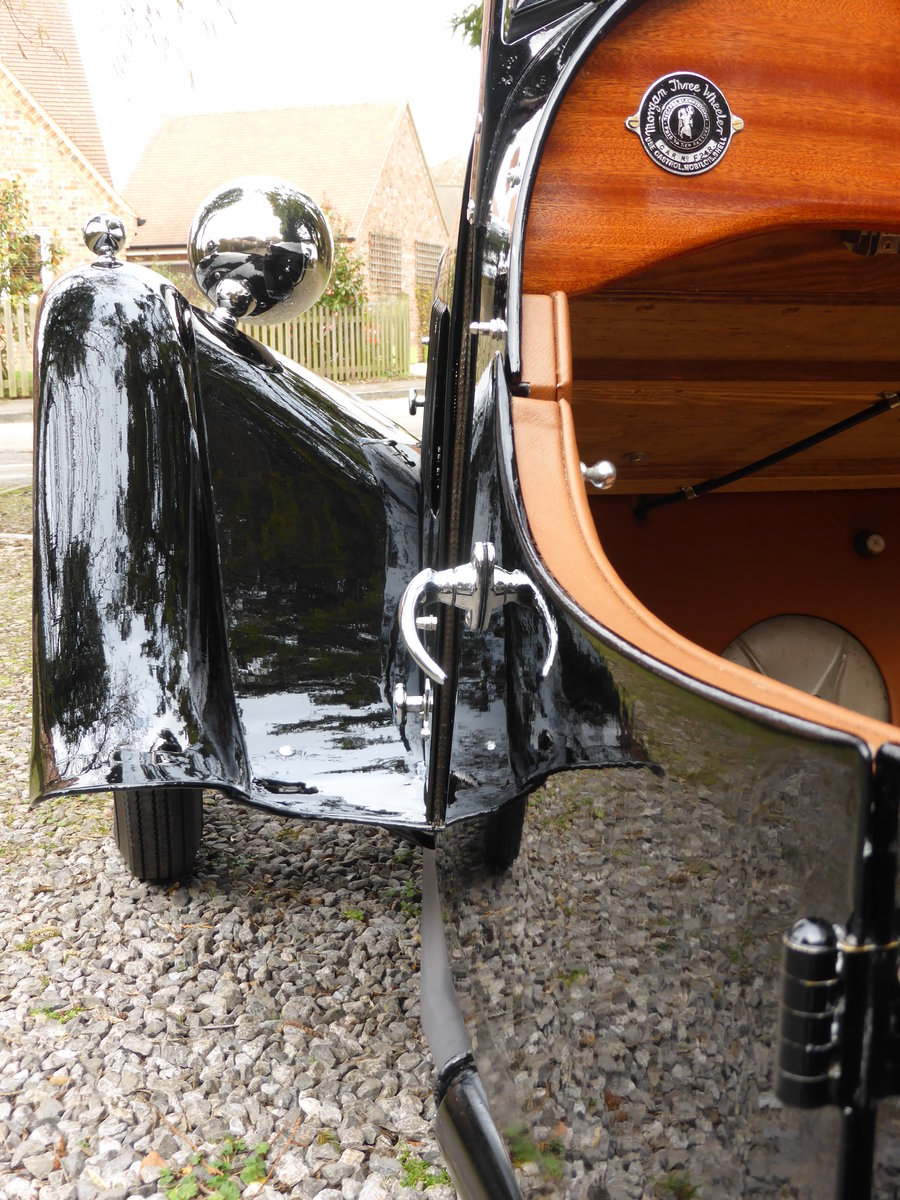 1936 Morgan 3 Wheeler F2, full restoration For Sale (picture 4 of 6)