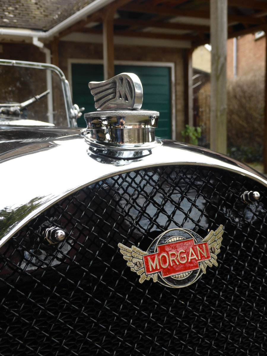 1936 Morgan 3 Wheeler F2, full restoration For Sale (picture 6 of 6)