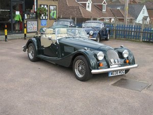 2008 Morgan Plus 4 2 Seater.