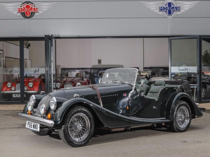 1997 Morgan Plus 4 4 Seater LHD For Sale (picture 1 of 6)