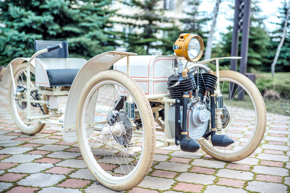 2017 Morgan Runabout 1909 Replica - Electric-powered For Sale (picture 1 of 6)