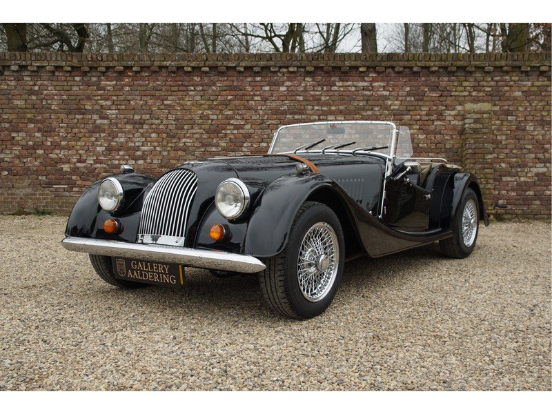 1979 Morgan Plus 8 3.5 factory 5-speed, only 41.042 km, carburett For Sale (picture 1 of 6)