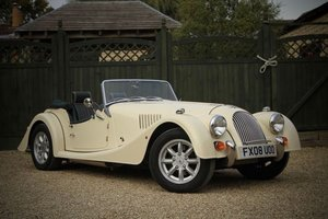 2008 Ivory White Morgan 4/4 perfect condition For Sale