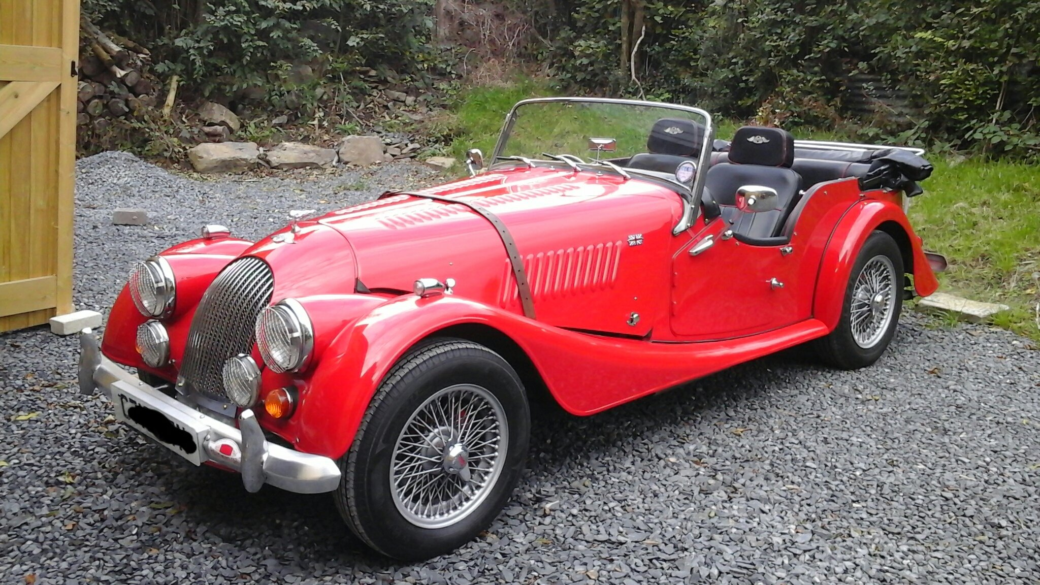 1986 classic morgan 4/4  4 seater SOLD (picture 5 of 6)