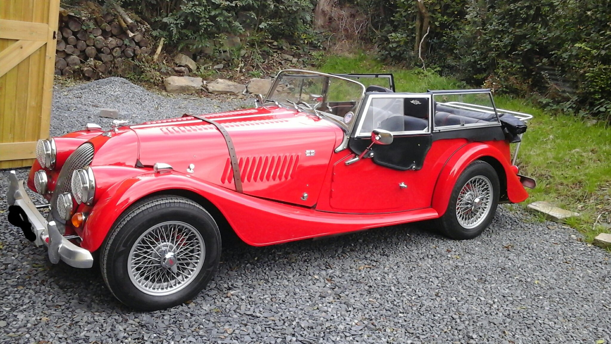 1986 classic morgan 4/4  4 seater SOLD (picture 1 of 6)