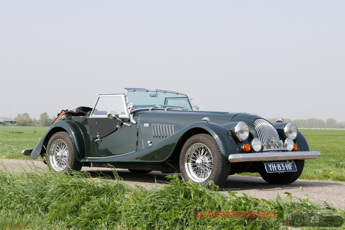 1990 Morgan Plus4 Two-seater unrestored original Dutch car For Sale (picture 1 of 6)