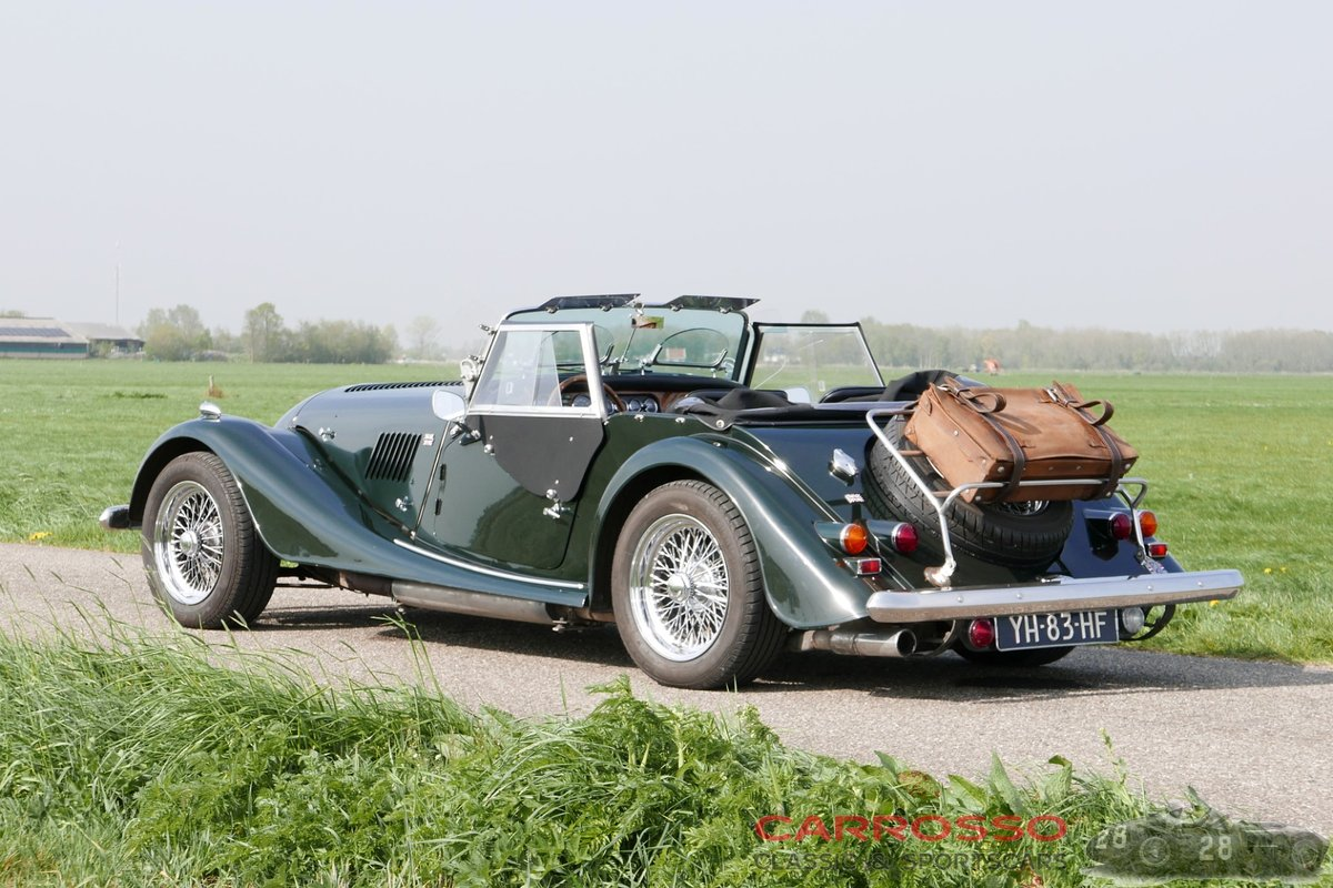 1990 Morgan Plus4 Two-seater unrestored original Dutch car For Sale (picture 2 of 6)