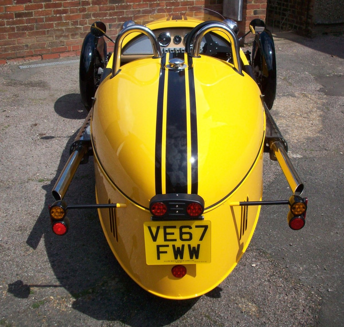 2018 Morgan 3 Wheeler For Sale (picture 4 of 6)