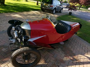 "1927 Morgan 3 wheeler 2 speed Aero with ""dog-eard"" JAP"