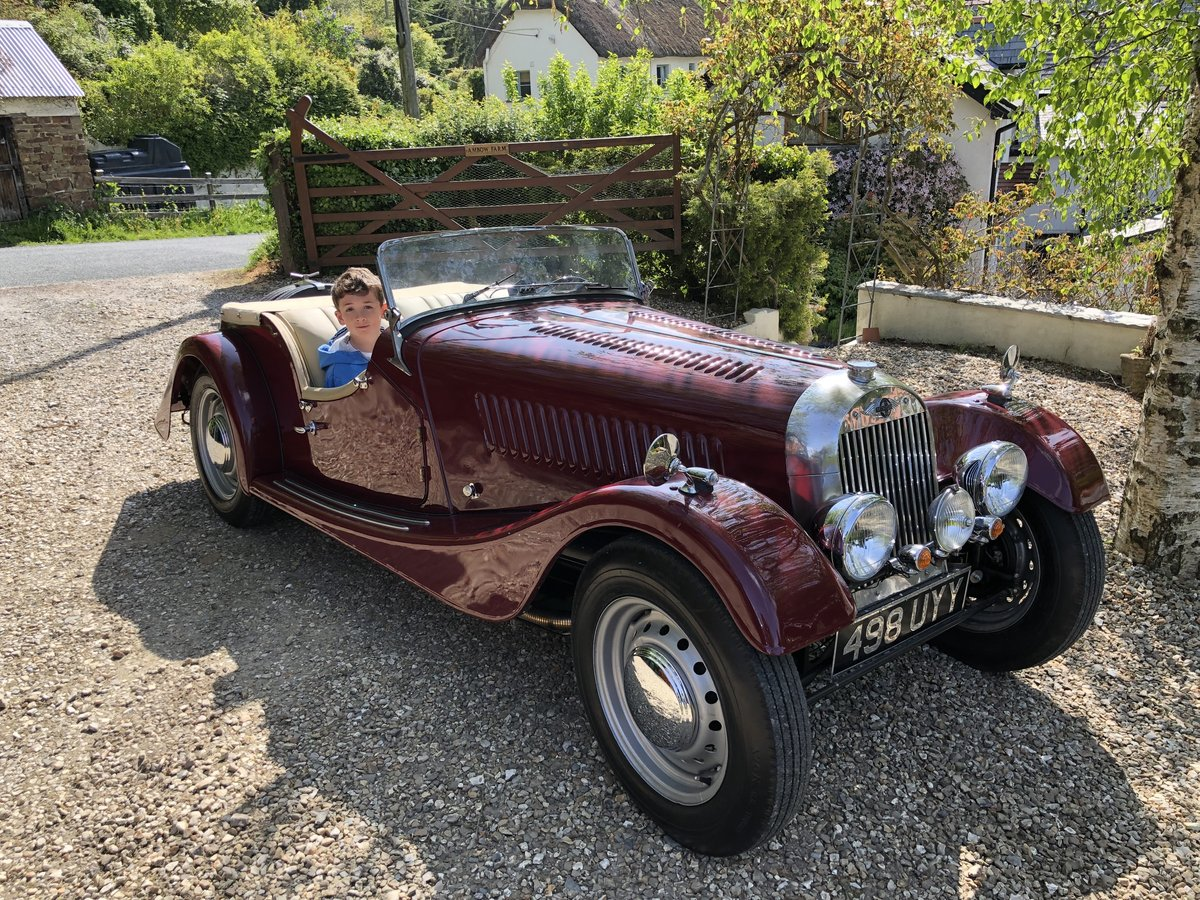 1953 53 Morgan Plus 4 : perfect - magazine featured For Sale (picture 1 of 6)