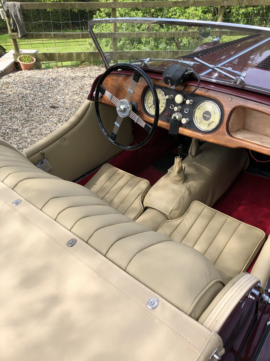1953 53 Morgan Plus 4 : perfect - magazine featured For Sale (picture 3 of 6)