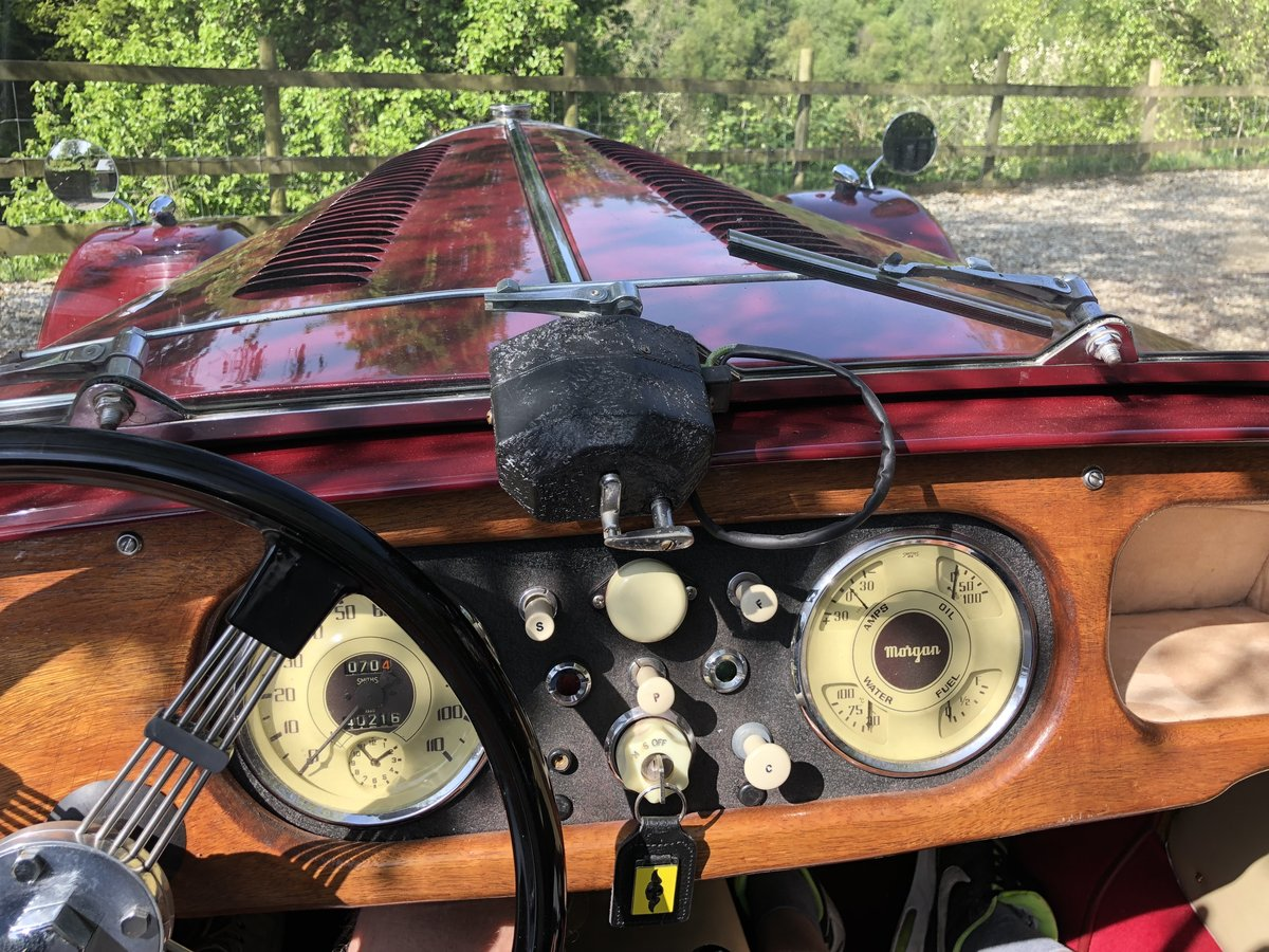 1953 53 Morgan Plus 4 : perfect - magazine featured For Sale (picture 4 of 6)