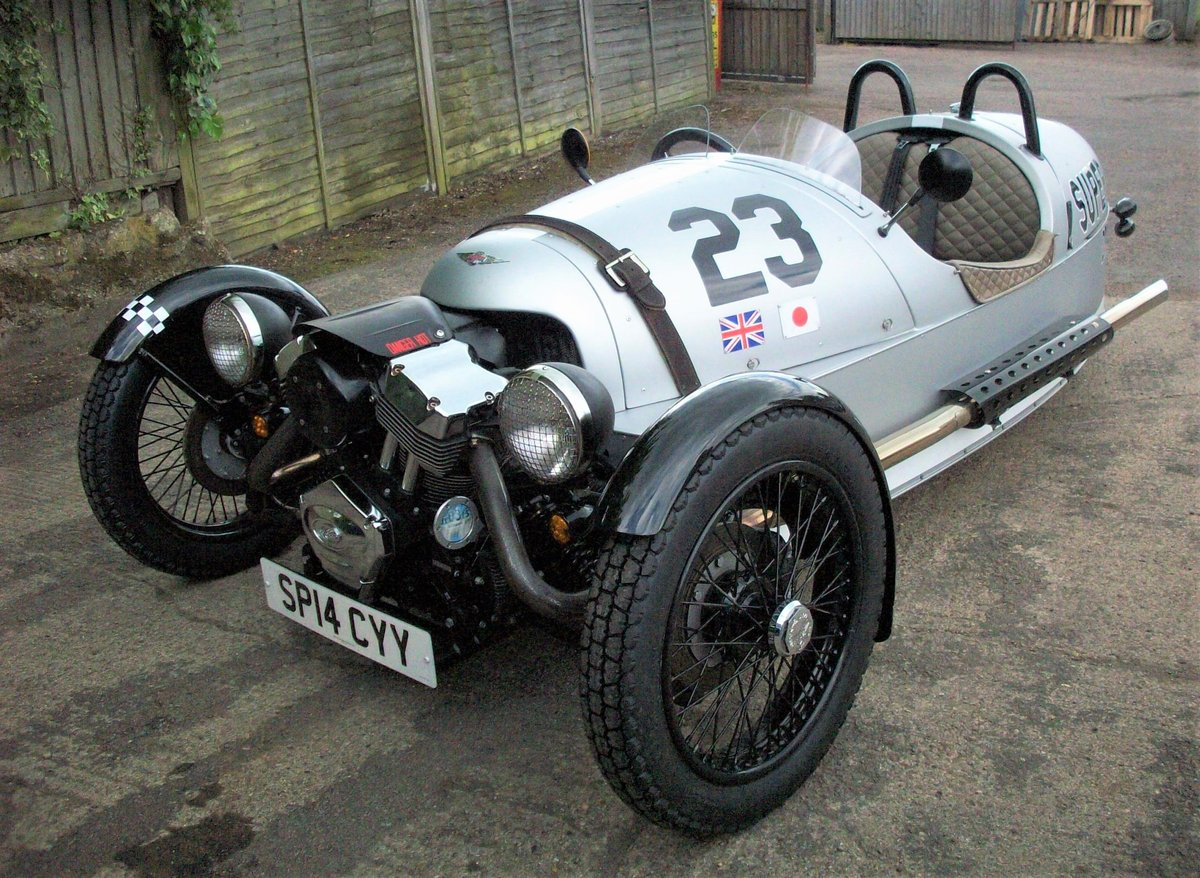2014 Morgan Superdry 3 Wheeler For Sale (picture 1 of 6)