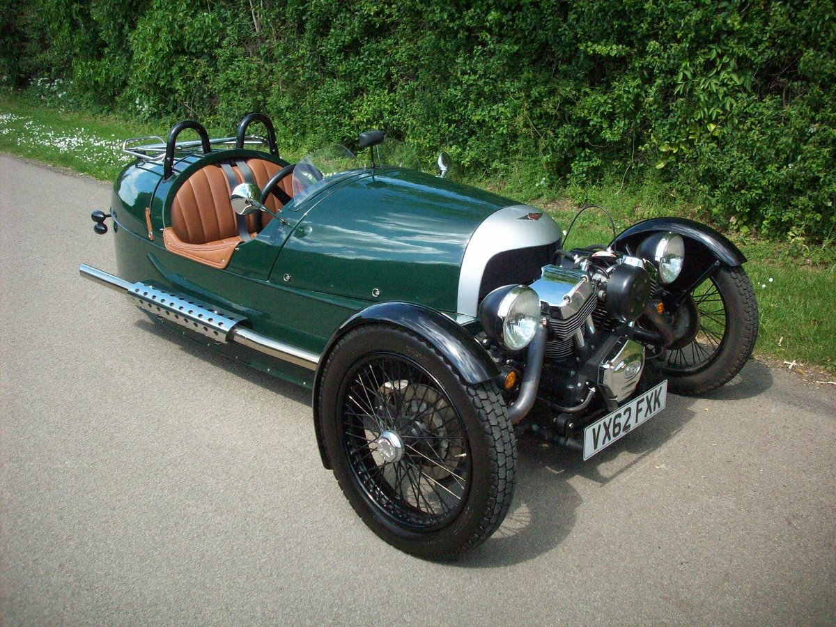 2012 Morgan 3 Wheeler SOLD (picture 2 of 6)