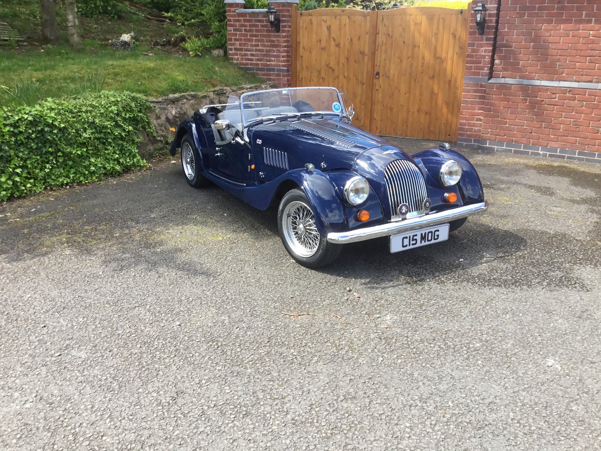 1991 Morgan Roadster 4/4 Indigo Blue SOLD (picture 2 of 6)