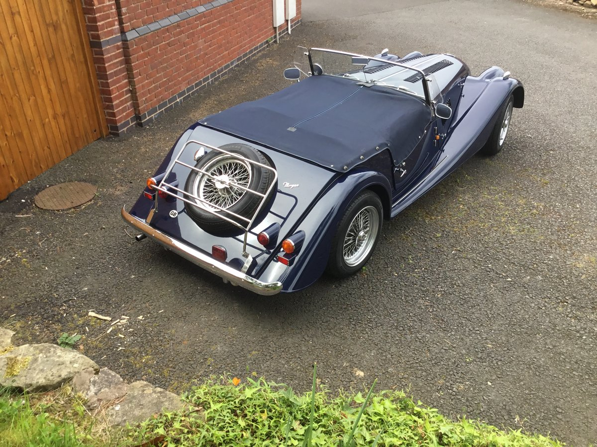 1991 Morgan Roadster 4/4 Indigo Blue SOLD (picture 3 of 6)