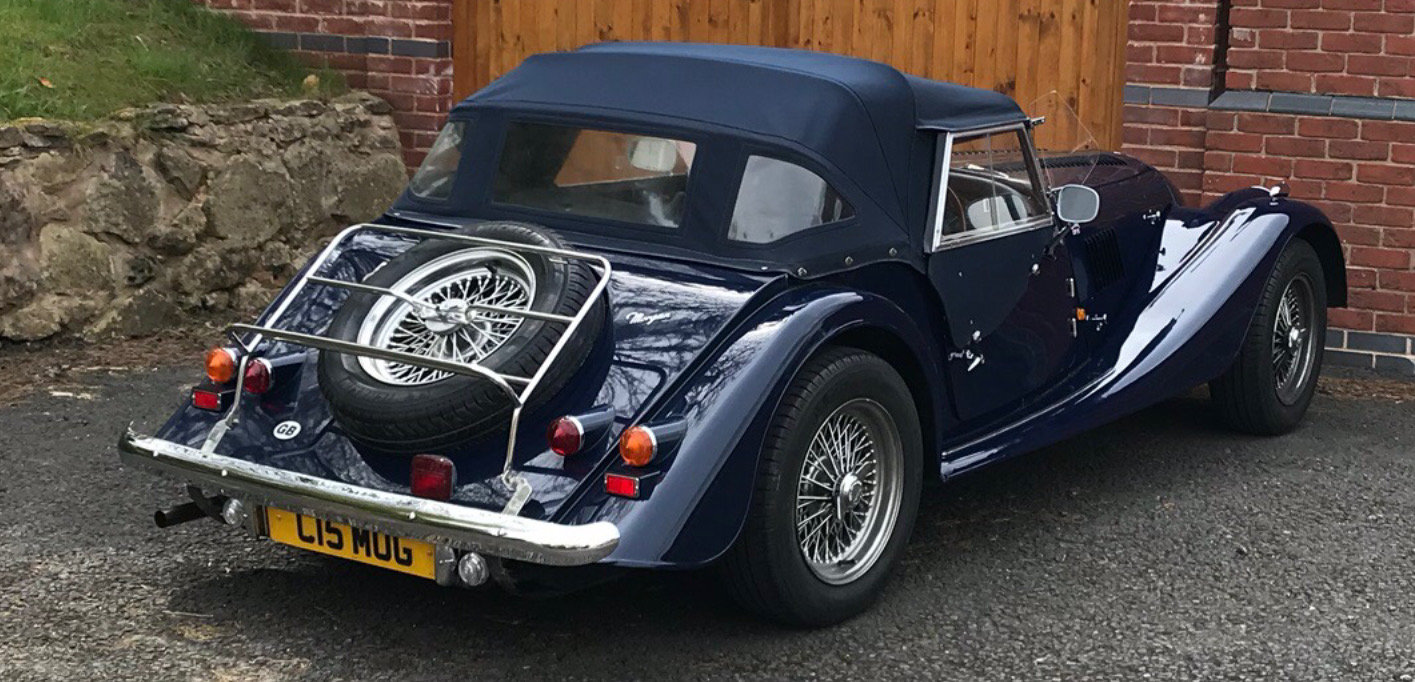 1991 Morgan Roadster 4/4 Indigo Blue SOLD (picture 5 of 6)
