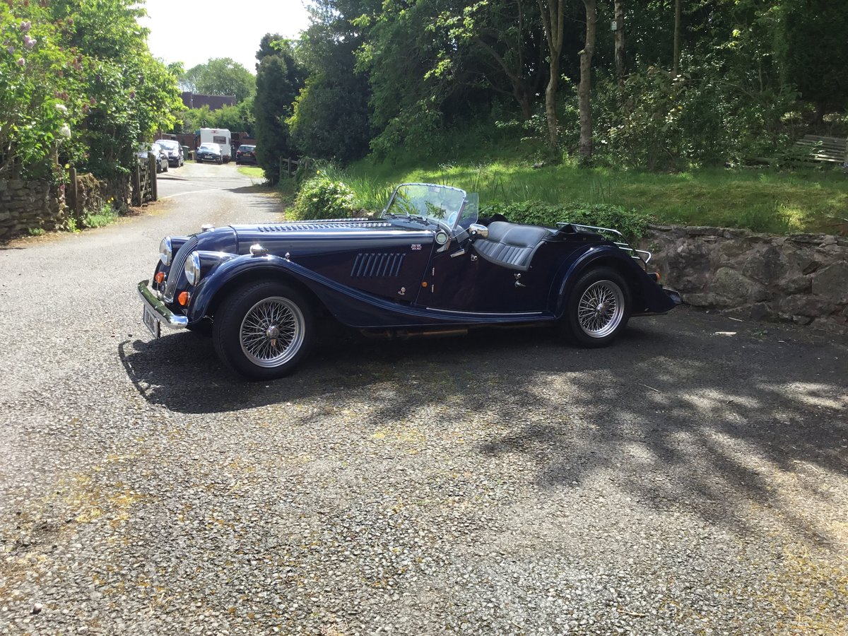 1991 Morgan Roadster 4/4 Indigo Blue SOLD (picture 6 of 6)