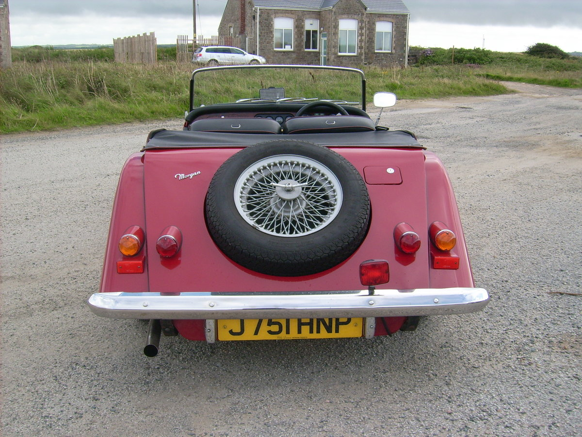 1992 Morgan 4/4 2 seater- 1 owner - 11k miles only SOLD (picture 2 of 6)