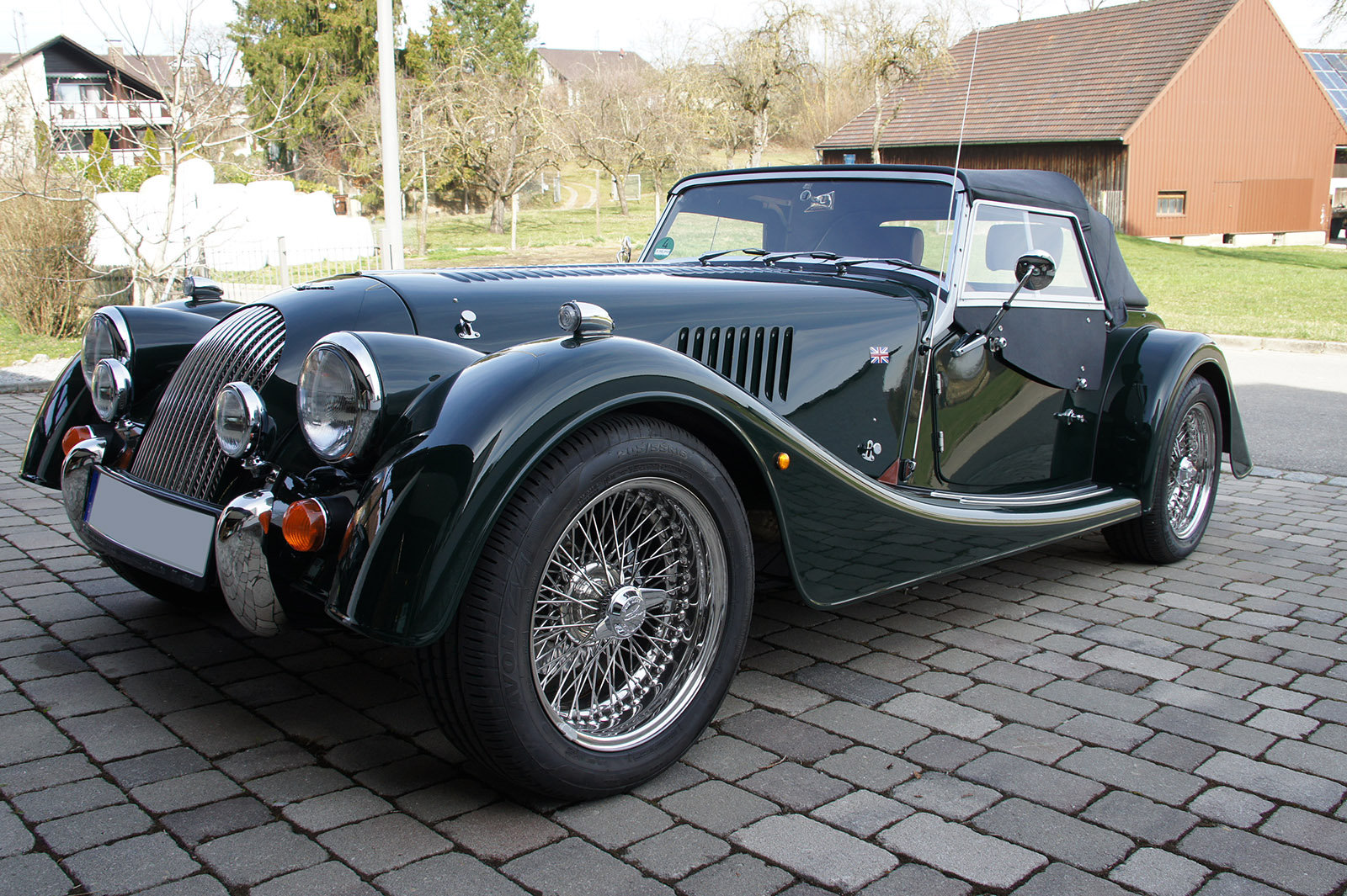 Morgan Roadster 3.7 2017 *LHD*only 2600 kms*like new*full SOLD (picture 1 of 6)