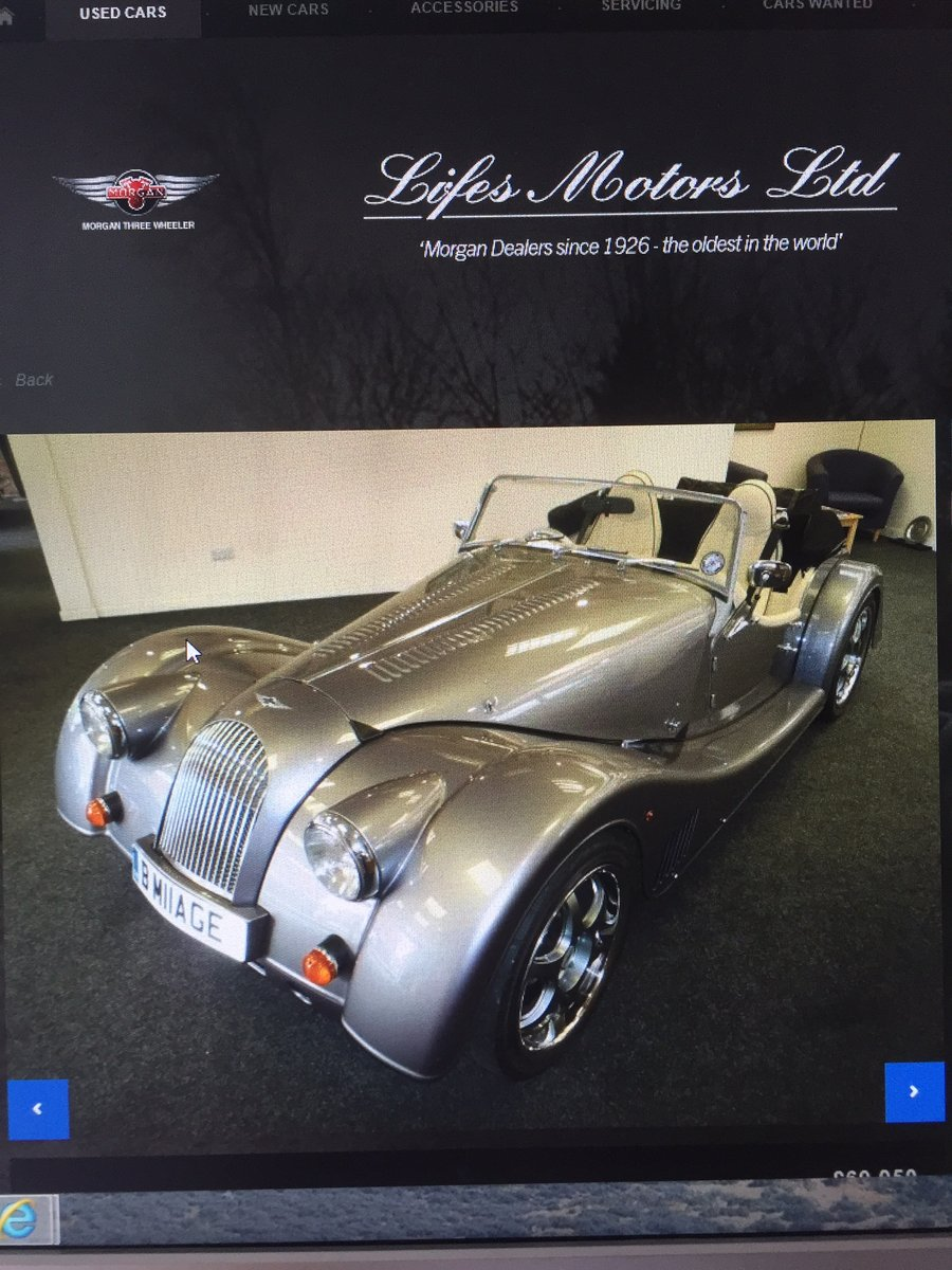 2013 Morgan plus 8 For Sale (picture 1 of 6)