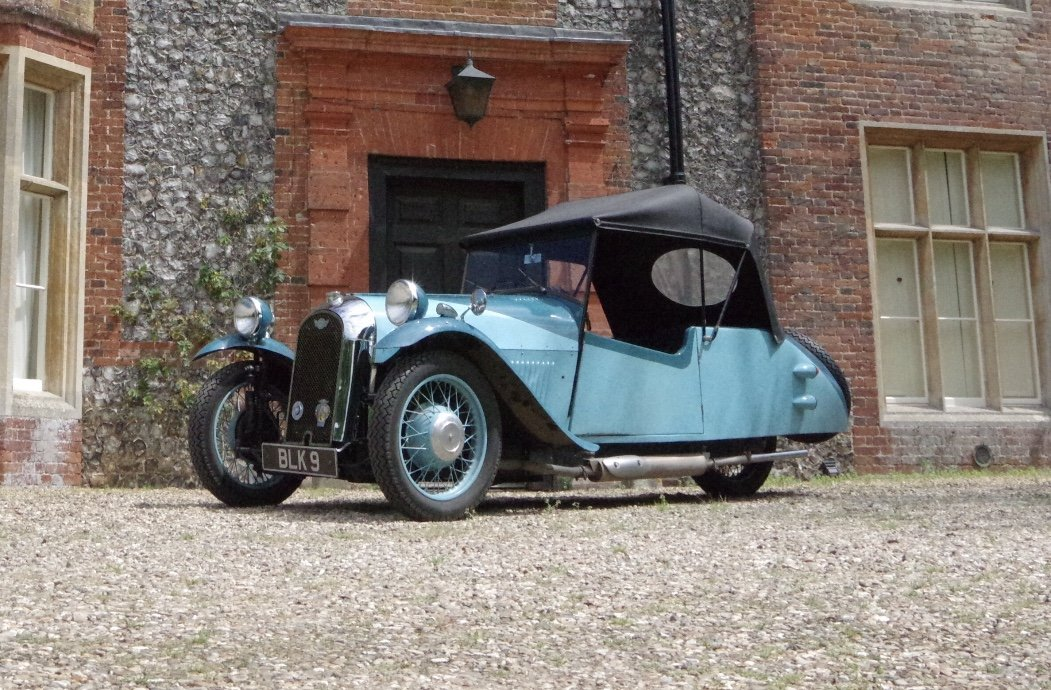 1934 Morgan F2 For sale at EAMA Classic and Retro 20/7 For Sale by Auction (picture 1 of 2)