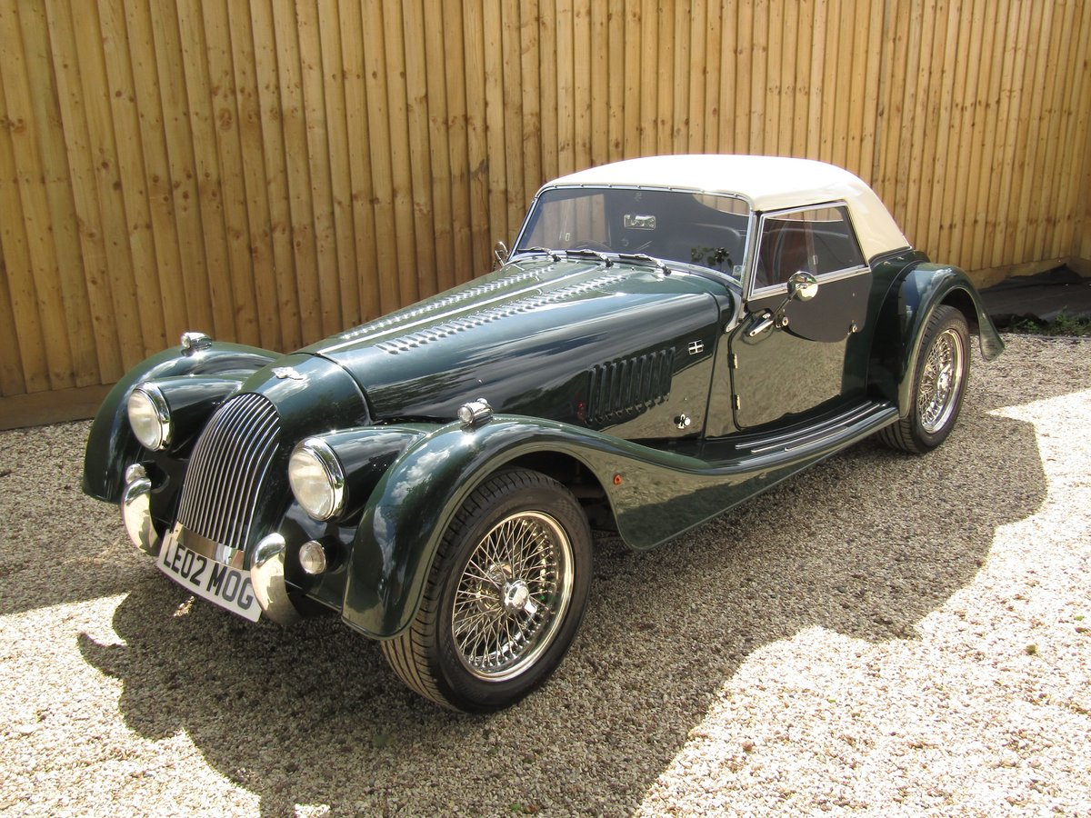 2002 Morgan Plus-8 LM62 #38/80 SOLD (picture 1 of 6)