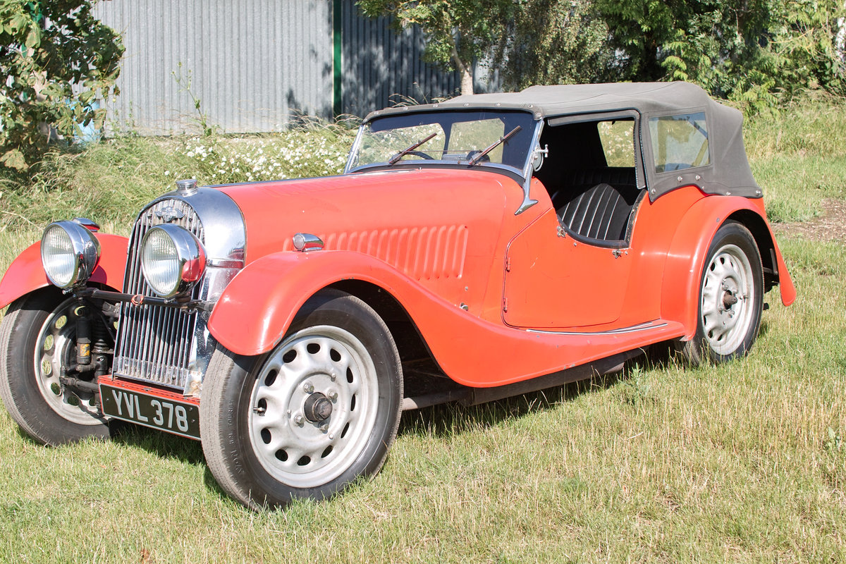 1938 Series 1 4/4 ultra rare 4 seater Flat Rad For Sale (picture 1 of 6)