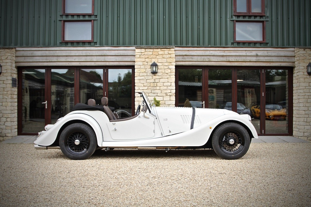 2019 DEMO Morgan Plus 4 2.0 GDI, Heron Grey / Cuba Leather For Sale (picture 2 of 6)