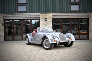 2015 Morgan Plus 4 2.0GDI, Porsche GT Silver / Mulberry Trim For Sale