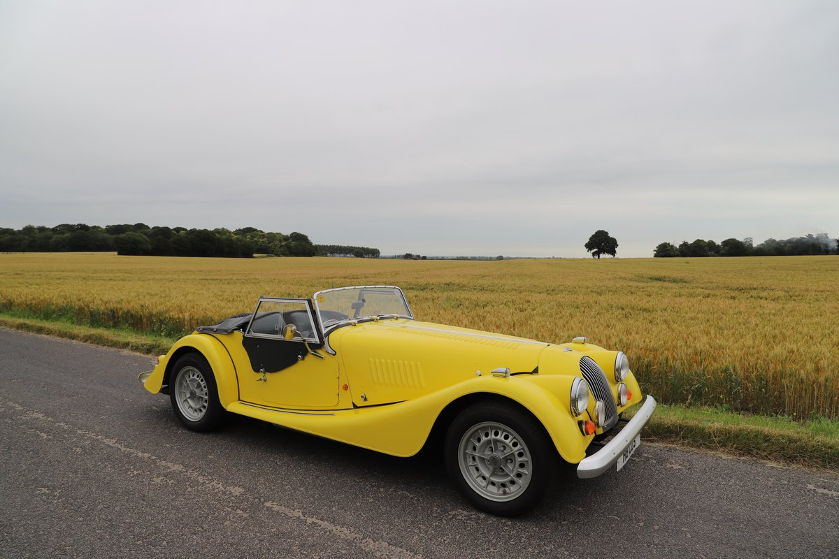 Morgan Plus 8 3.9, 1991. Fantastic example in Canary Yellow  For Sale (picture 1 of 6)