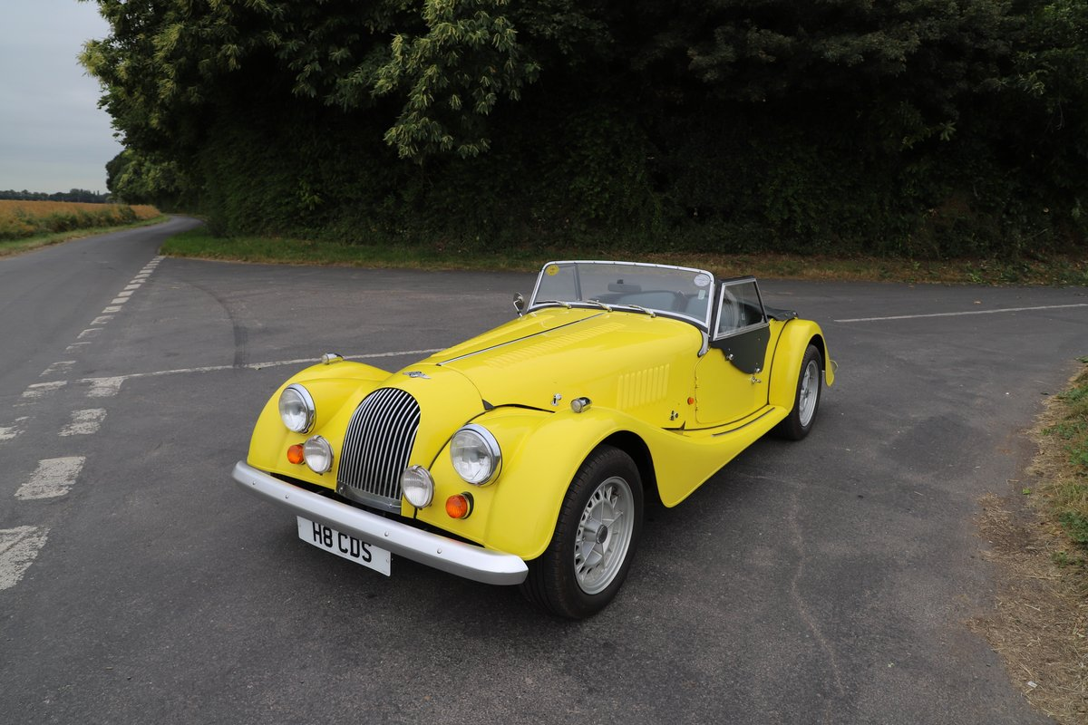 Morgan Plus 8 3.9, 1991. Fantastic example in Canary Yellow  For Sale (picture 2 of 6)