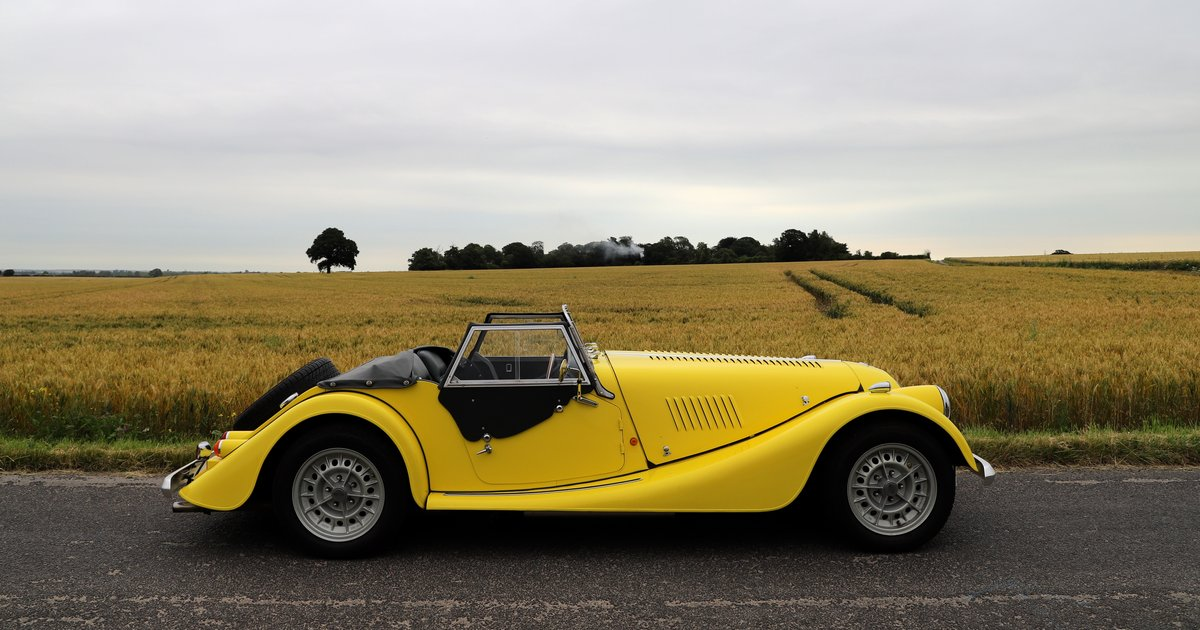 Morgan Plus 8 3.9, 1991. Fantastic example in Canary Yellow  For Sale (picture 5 of 6)