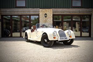 2011 Morgan 4/4 1600, Classic Ivory over Tan Leather For Sale