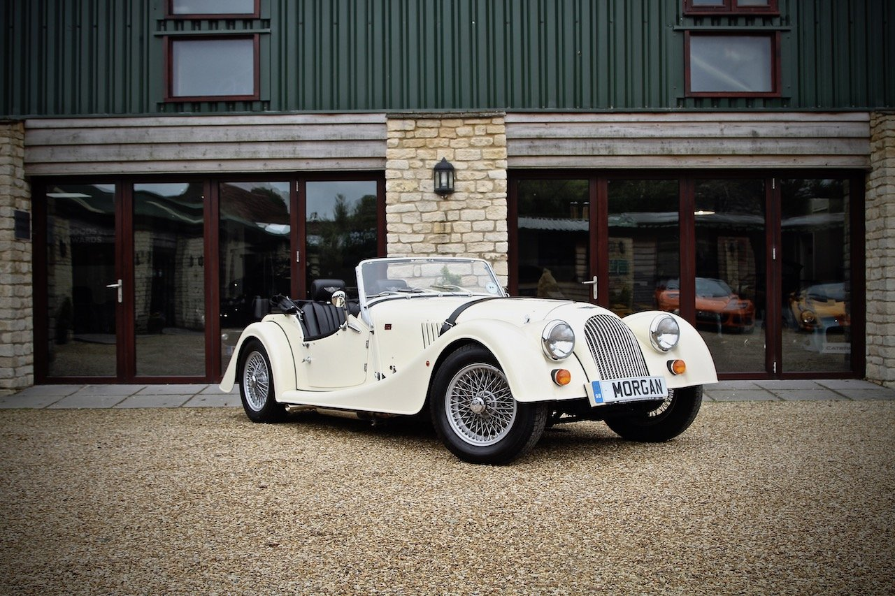 2015 Morgan 4/4 1.6, Classic Ivory over Black Leather For Sale (picture 1 of 6)