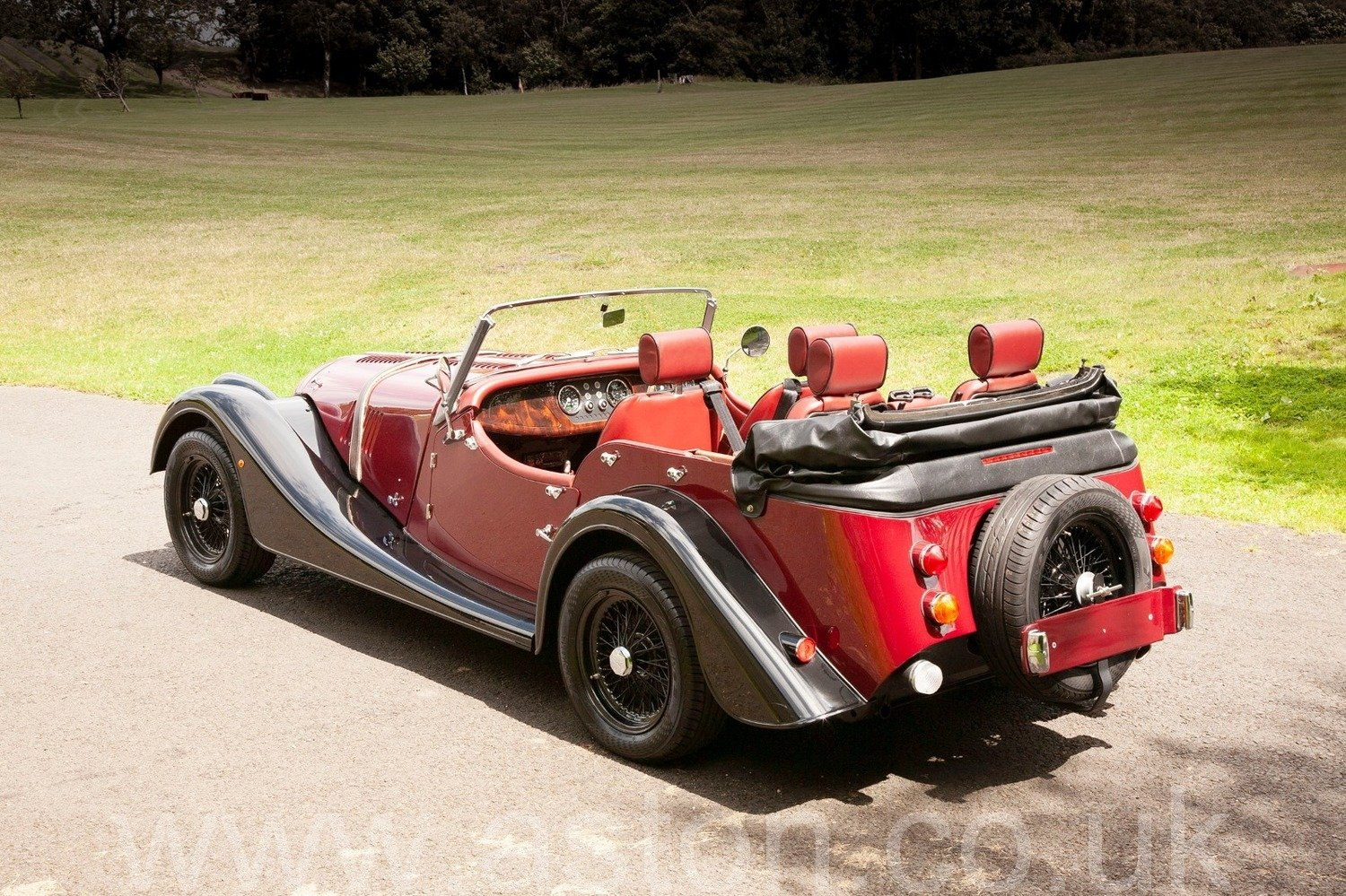 2012 New Unregistered Morgan Plus 4 4 seater Tourer SOLD (picture 6 of 6)