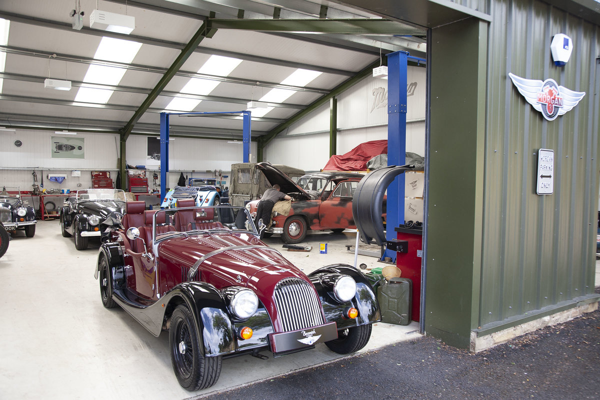 2012 New Unregistered Morgan Plus 4 4 seater Tourer SOLD (picture 1 of 6)