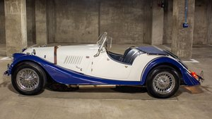 1967  Morgan 4 2 Plus S =  Roadster RHD Blue(~)Ivory $44.9k