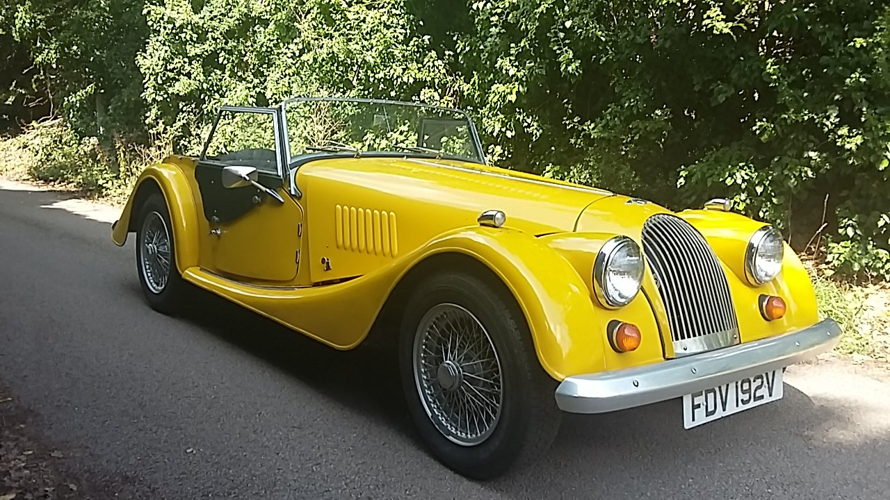 1980 Morgan 4/4 2 seater SOLD (picture 1 of 4)