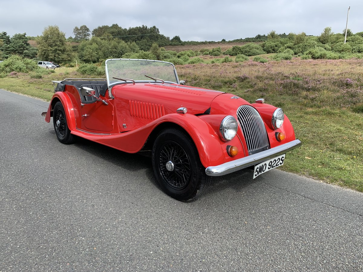 Morgan 4/4 1977 Four Seater For Sale (picture 1 of 6)