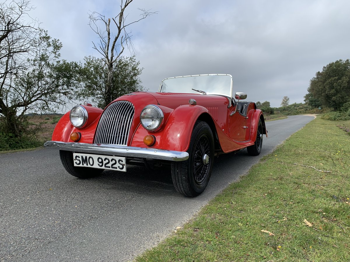 Morgan 4/4 1977 Four Seater For Sale (picture 3 of 6)