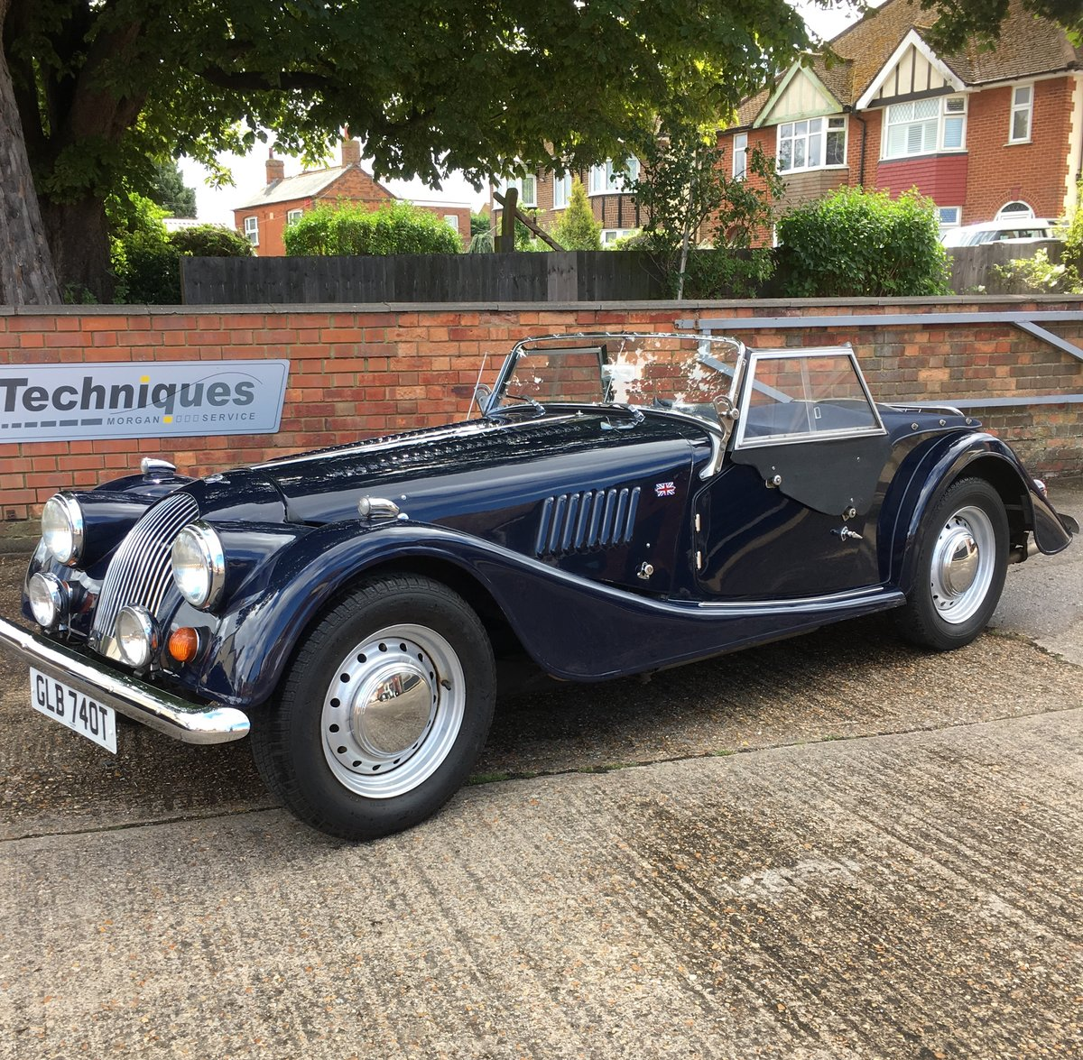 1979 Classic Morgan 4/4 2-seater SOLD (picture 1 of 6)