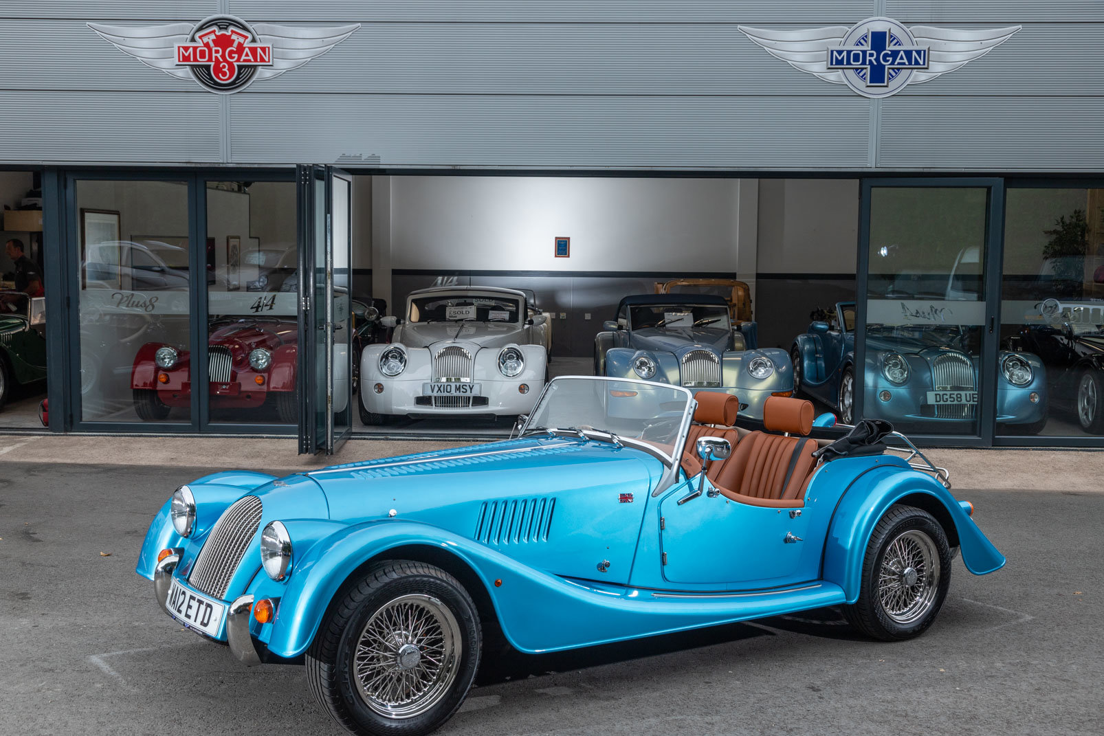 2012 Morgan Plus 4 For Sale (picture 1 of 6)