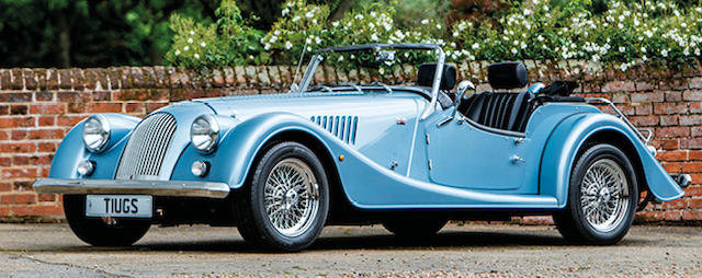 2017 MORGAN PLUS 4 ROADSTER For Sale by Auction