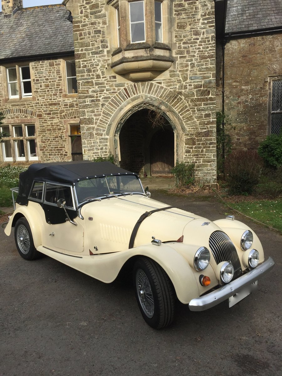 1980 MORGAN 4 SEATER - £16500 SOLD (picture 1 of 6)
