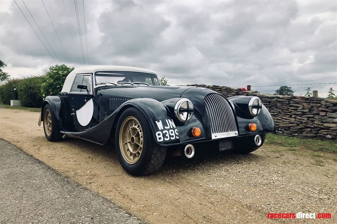 1976 Morgan +8 with fia papers & road registered For Sale (picture 1 of 6)