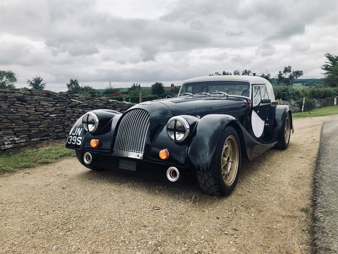 1976 Morgan +8 with fia papers & road registered For Sale (picture 2 of 6)