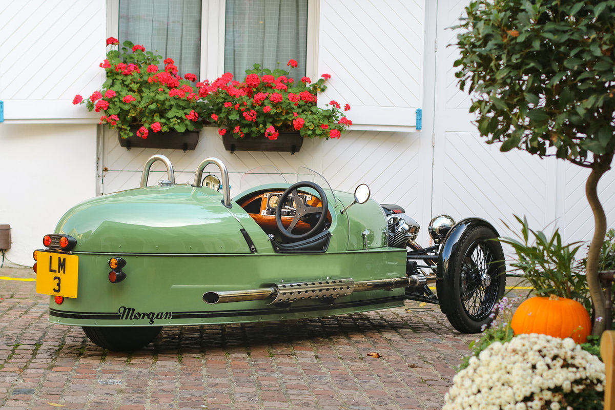 2015 Morgan 3 Wheeler - 980 miles, 1 Owner For Sale (picture 3 of 6)