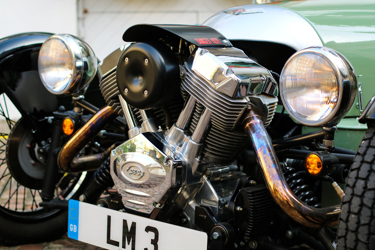 2015 Morgan 3 Wheeler - 980 miles, 1 Owner For Sale (picture 4 of 6)